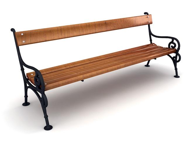 Паркова-пейка-чугунени-отливки-модел-6
