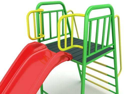 Пързалка-единична-Н-110-стандарт2
